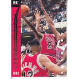 1993-94 Upper Deck 7 Titles Michael Jordan Wilt Chamberlain