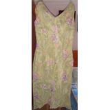 Vestido Falda De Casual Largo Elegante Talla 10