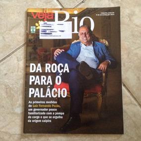 Revista Veja Rio 05/12/2014 Governador Pezão Rio De Janeiro