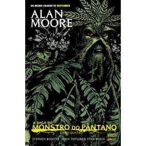 Hq - A Saga Do Monstro Do Pântano - Livro Quatro