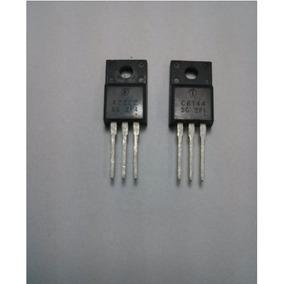 1 Par Transistor 2sa2222 E 2sc6144 Original Usado Na Epson