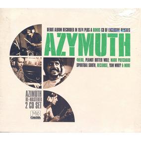Azymuth 1975 Remaster Remix Cd Duplo Lacrado Importado