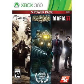 Jogo Lacrado Xbox 360 Power Pack Com 3 Jogos Da 2k Games