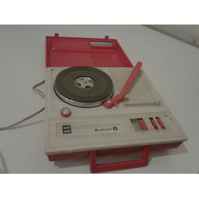 Antigua Radio Phonograph Portable Belair Solid State