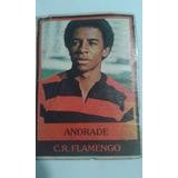 Futebol Cards Ping Pong 286 C.r. Flamengo Andrade