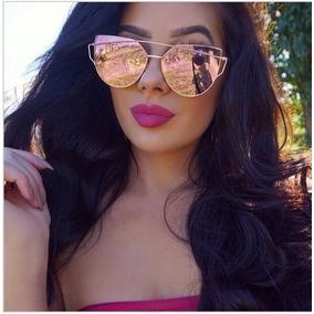 Oculos Espelhado Feminino Rosa De Sol Outros Dior - Óculos no ... 880b1dea00