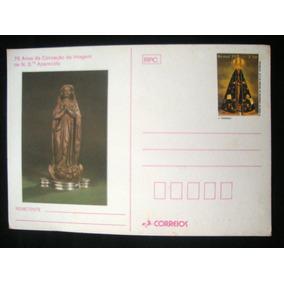 Selo Cartão Postal Antigo Imagem Aparecida