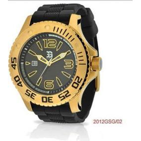 f7f32f94e5f Relogio Garrido E Guzman Dourado - Relógios no Mercado Livre Brasil