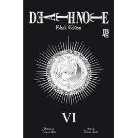 Mangá Death Note Black Edition Volumes 3, 4 E 5 Jbc Cada