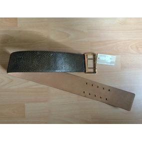 Cinturon Michael Kors Mk Piel Fina Pitton Edicion Especial!!