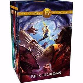Box Os Heróis Do Olimpo Coleção ( 5 Livros ) - Percy Jackson