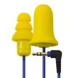 Plugfones Contratista Amarillo Nuevo Y Línea Mejora Del Oído