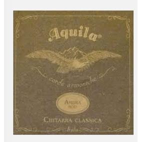 Cordas Violão Aquila Ambra 2000 Nylgut Itália - Históricas