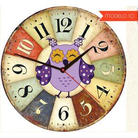 6c99236ed1d Relógio De Parede Corujinha Decoração Infantil Coruja 40cm