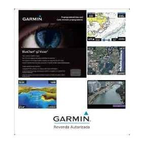 Nova São 6 Cartas Nautic Gps Garmin Bluechartg2 Hxsa500l2014