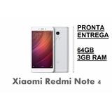 Xiaomi Redmi Note 4 3gb Ram 64gb Rom Pronta Entrega