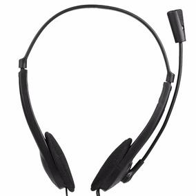 Fone Ouvido Headphone Stereo Notebook Pc Skype Microfone
