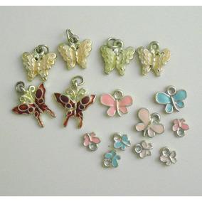 Set De Dijes O Charm De Mariposas Nuevos