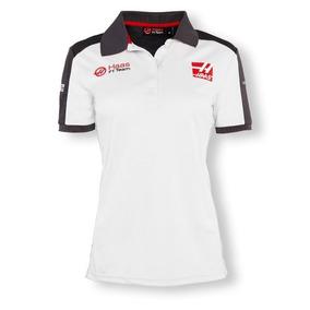 Playera Polo Dama Haas F1 Genuina Esteban Gutierrez 2016