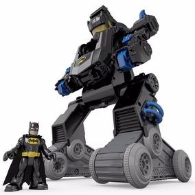 Fisher Price Imaginext Batman Batbot R/c Transformável