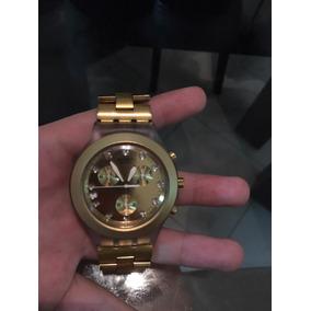 079b6c1e70b Relogio Swatch Ironi Swiss Dourado - Relógios De Pulso no Mercado ...