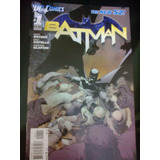 Comic Fisico Batman Número 1 Original New 52