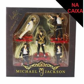 Michael Jackson Kit 5 Boneco Smooth Criminal Billie Jean B02