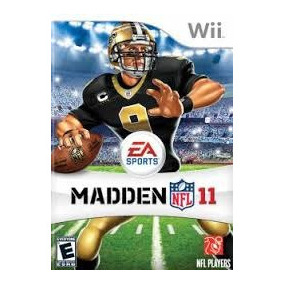 Madden Nfl 11 - Nintendo Wii - Semi-novo Original