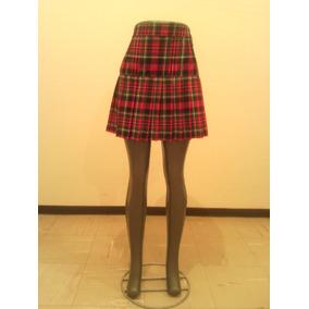 Falda Escolar Escocesa Confección