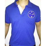 Camisa Polo Emblema Retrô - Cruzeiro