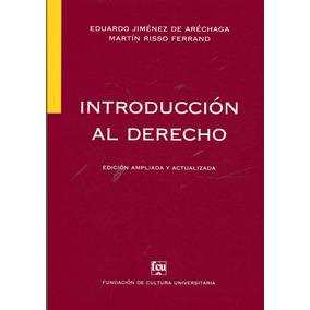 Introducción Al Derecho / Jiménez De Aréchaga