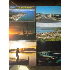 Lote Com 6 Cartões Postais Antigos Florianópolis Santa Catar