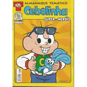 Almanaque Tematico Cebolinha 29 - Panini Bonellihq Cx05 A19