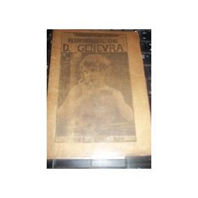 Livro Cordel História De D. Genevra João M De Athayde