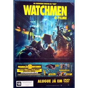 Poster Original Watchmen - O Filme - 60 X 90 Cm