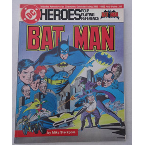 Batman Sourcebook - Rpg - Mike Stackpole - Mayfair - 1986