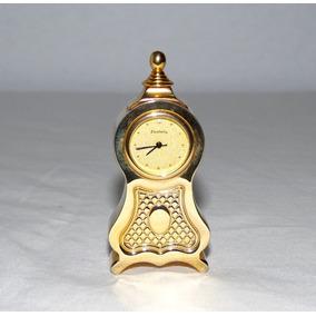 Reloj Miniatura Excelsior Boulle Baño De Oro