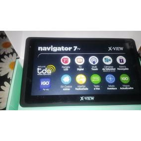 Gps X-view 7 + Tv Tda Usado Y En Su Caja