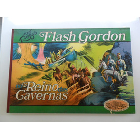 Flash Gordon Vol 2! No Reino Das Cavernas! Ebal 1974!