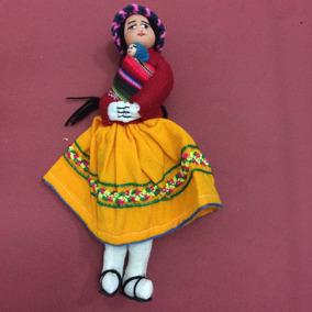 Boneca Típica Da América Do Sul, 23 Cm
