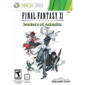 Jogo Final Fantasy Xl Online Seekers Of Adoulin Xbox 360