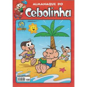 Almanaque Do Cebolinha 43 - Panini - Bonellihq Cx07 B19