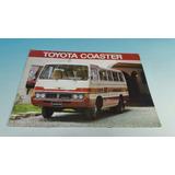 Antiguo Catalogo De Venta De Minibus Toyota Coaster