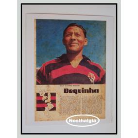 Idolos Do Futebol Brasileiro - Dequinha - F(102)