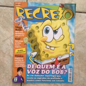 Revista Recreio 5/5/2011 De Quem É A Voz Do Bob Esponja?