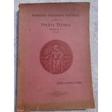 Livro: Primeiro Congresso Nacional De Polícia Técnica -1947