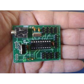Controlador Servo 8 Canais Robótica Robô Automação Pic Rc