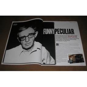 Woody Allen _ Lote De Muitos Recortes Originais