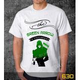 9e9ad5f0dd Camiseta Green Arrow Camisa Games Herois Series Frete Grátis