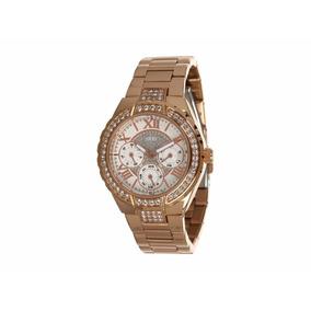 e8088bc91d2 Relógio Guess W0111l3 Ladies Rose Gold Feminino Dourado - Relógios ...
